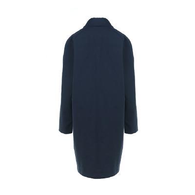 simple design single coat navy